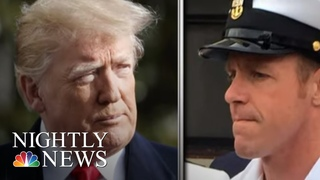 Trump Defends Embattled Navy SEAL Against Attempts To Downgrade His Status | NBC Nightly News