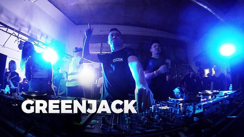 Greenjack Codex Showcase Kyiv Ukraine 8 3 2020 Techno Mix
