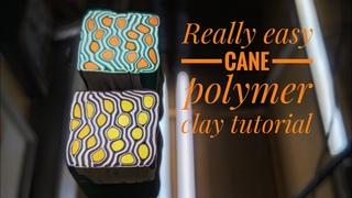 Really easy cane tutorial _ 정말 쉬운 점토로 패턴 만들기