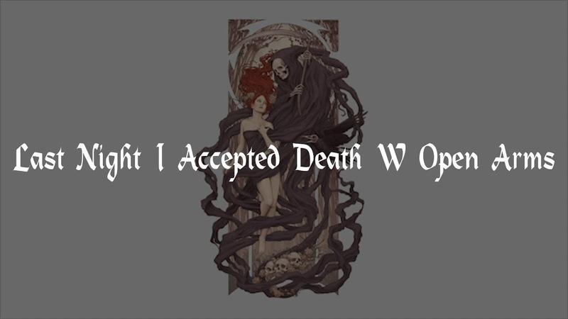Lil Revive x Darko - Last Night I Accepted Death With Open Arms [RUS SUB/Перевод]