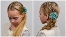 Stacked French Braid | 2 Cute 5 MINUTE Back To School hairstyles ★ Little girls hairstyles 90 LGH
