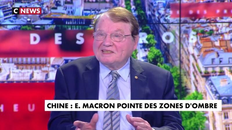 Pr Luc Montagnier L'INTEGRALE sur CNEWS Le CoVid une CREATION en laboratoire WUHAN
