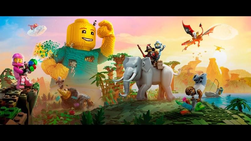 Мультик приключения на острове Lego