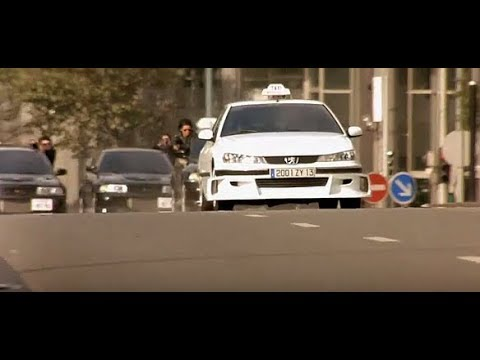 Taxi 2 Paris Car Chase Part 1