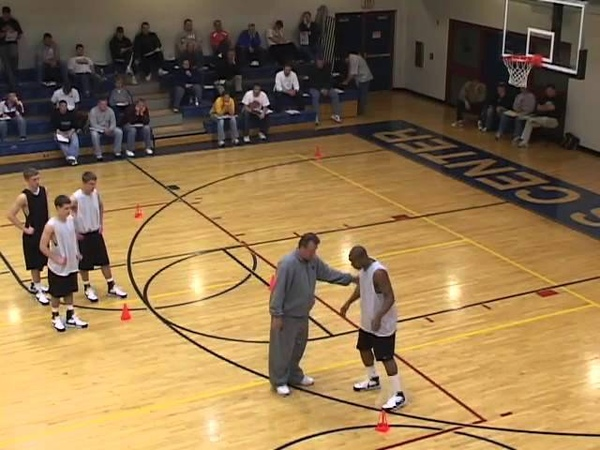 Teach Players to Cut Hard in a Motion Offense! - Basketball 2016 1