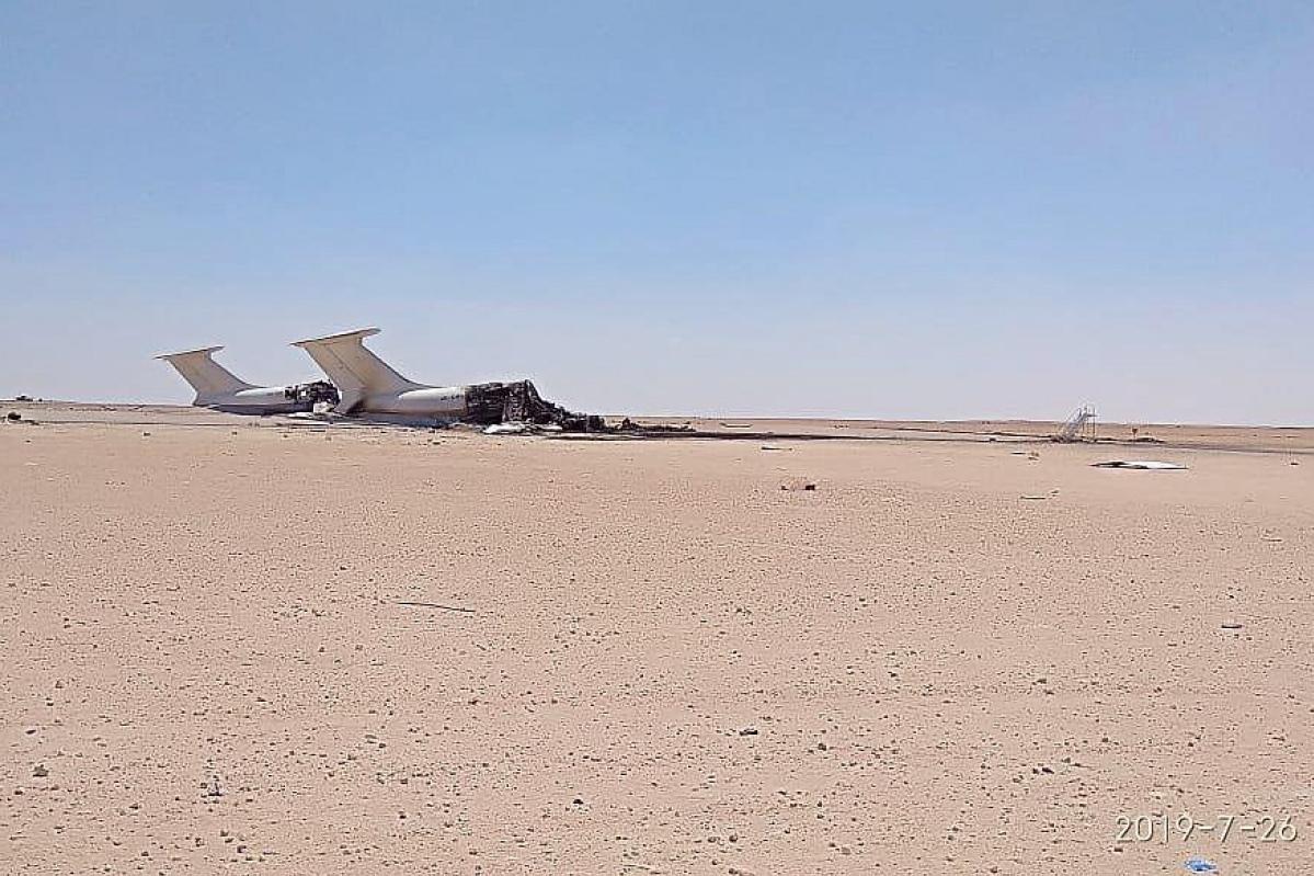 Уничтоженные украинские Ил-76
