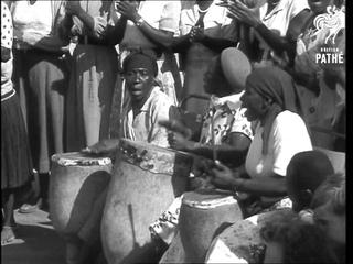 Queen Mother In Bulawayo (1957)