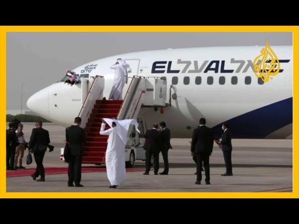 🇦🇪 التطبيع رسائل مباشرة حمّلتها إسرائيل لأول طائرة لها تهبط مباشرة وعلنا في أبو ظبي
