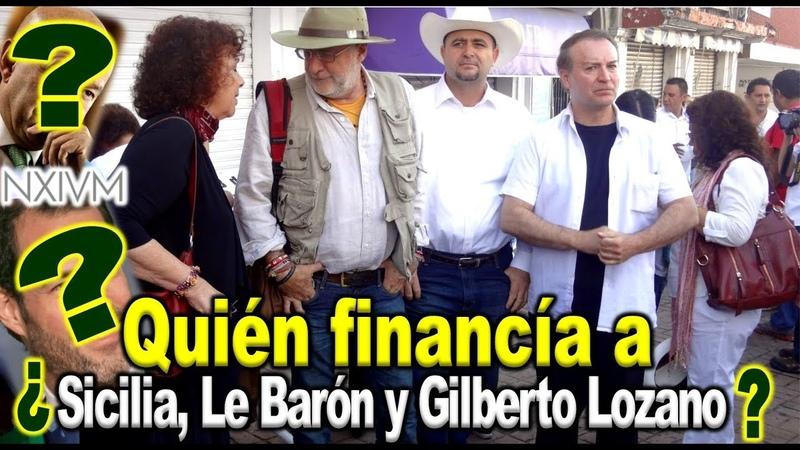 Vea el hilo que lleva a Sicilia, Le barón y Lozano con Salinas...