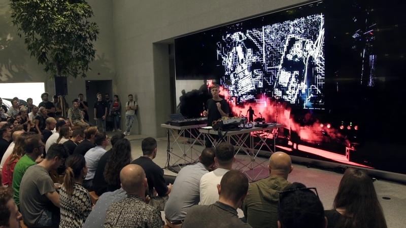 Richie Hawtin Apple Music Lab CLOSER Masterclass Live Performance Full Version Milan