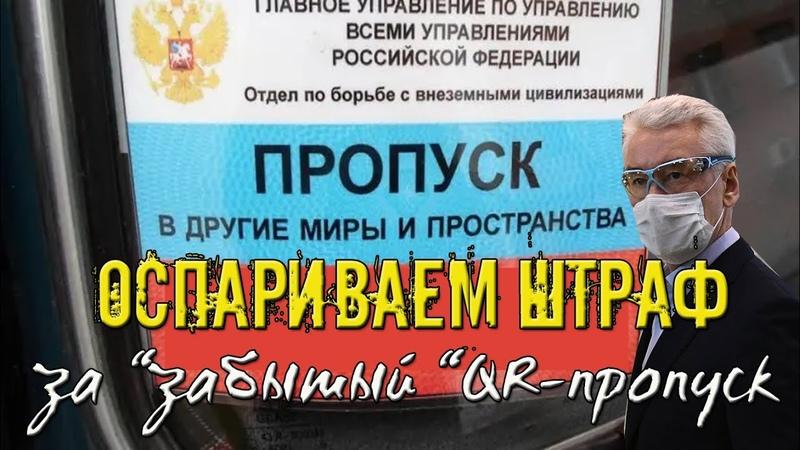 Оспариваем ШТРАФ за забытый QR ПРОПУСК ПЕРЕЗАЛИВ