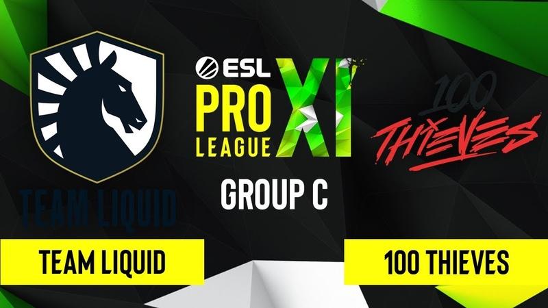 CSGO Team Liquid vs 100 Thieves Vertigo Map 1 ESL Pro League Season 11 Group C