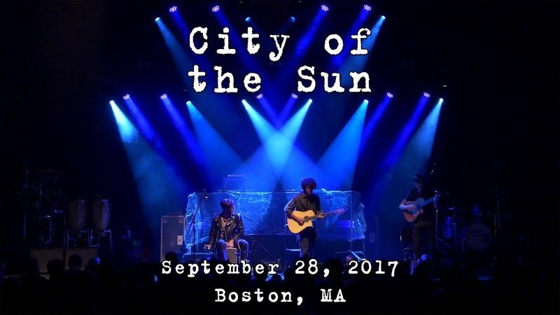 City of the Sun: 2017-09-28 - House of Blues; Boston, MA [4K]