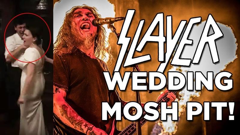 SLAYER Wedding Mosh Pit!