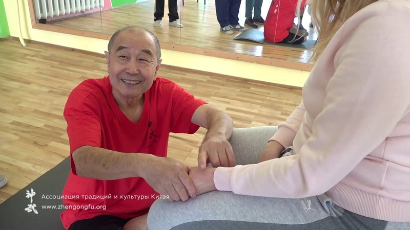 Болит ШЕЯ плечо или голова Две точки Здоровье с Му Юйчунем