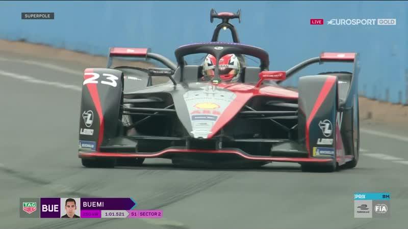 2020.02.29 - Формула-Э, 5 эт., Марракеш (квалификация на Евроспорте в прямом эфире)