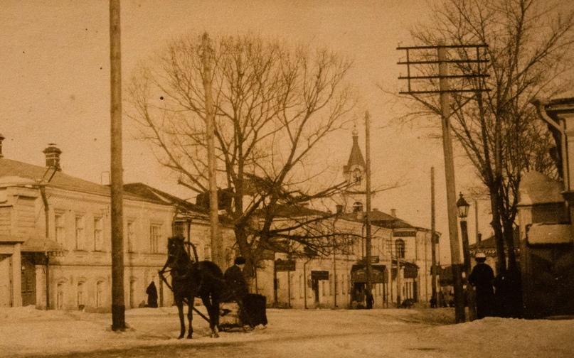 Георгиевский переулок в начале ХХ века