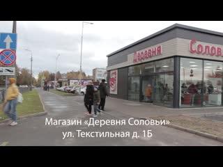 """""""Деревня Соловьи"""" г. Псков, ул. Текстильная, 1Б."""