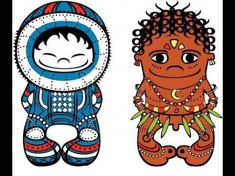 Эскимос и Папуас | Веселые детские песни