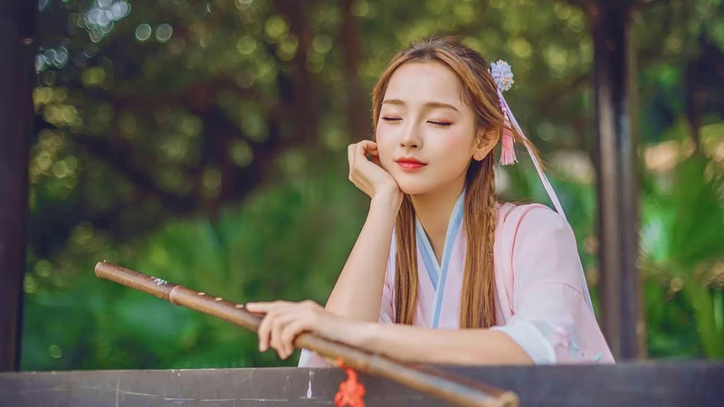 китайская музыка, бамбуковая флейта Музыка, ГУ Чжэн Музыка, инструментальная музыка, тихая музыка
