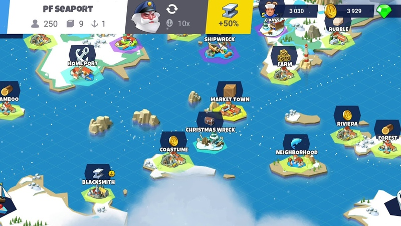 Seaport Explore Collect Trade Iphone Ipad Android Gameplay 86 1080p