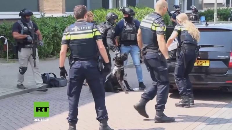 Niederlande Syrer schreit bei Festnahme Allahu Akbar und tötet Polizeihund mit einer Axt