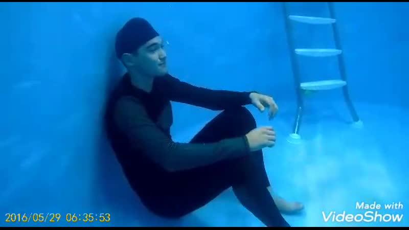 Батл к НГ под водой