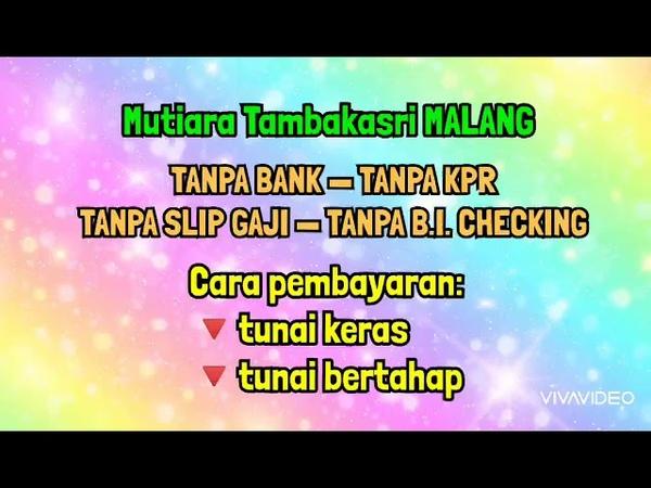 Rumah inhouse syariah tanpa bank tanpa kpr di Malang