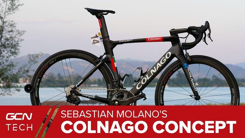 Sebastián Molanos Colnago Concept | Team UAE Emirates Pro Bike