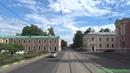 Tramwaje w Moskwie linia 27k Московский трамвай маршрут 27к
