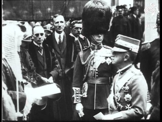 State Visit Of King Of Italy  (1924)