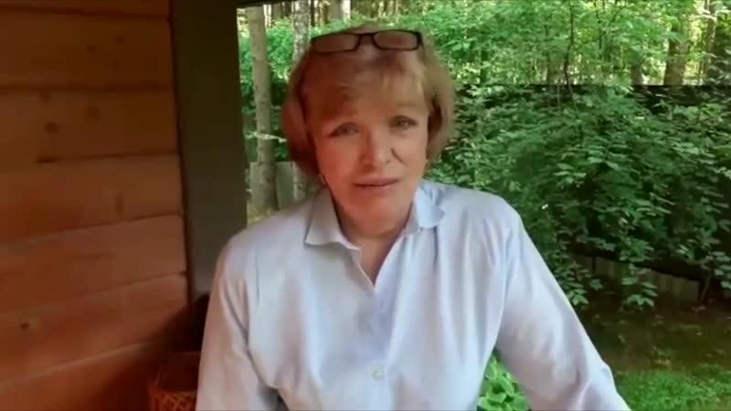 Ольга Остроумова поздравляет Генриетту Яновскую с юбилеем 24 06 2020