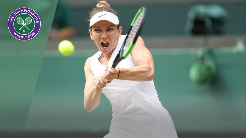 Simona Halep vs Shuai Zhang Wimbledon 2019 quarter finals highlights