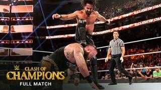 [WBSOFG] FULL MATCH - Seth Rollins vs. Braun Strowman – Universal Title Match: WWE Clash of Champions 2019