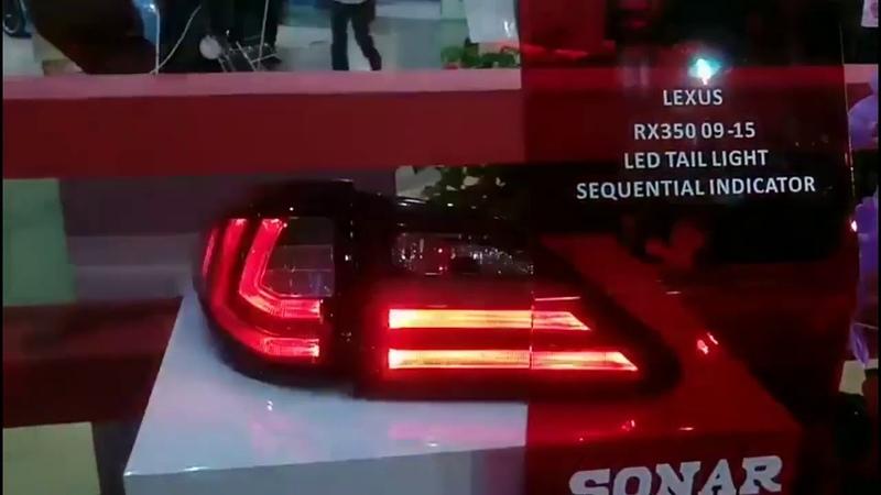 Для автомобиля Lexus RX350 задний фонарь 2010 2016 светодиод