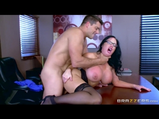 Busty Secretary Sybil Stallone Gets Drilled By Her Boss big tits milf Boobs mom Brazzers wife anal ass blow job hand job