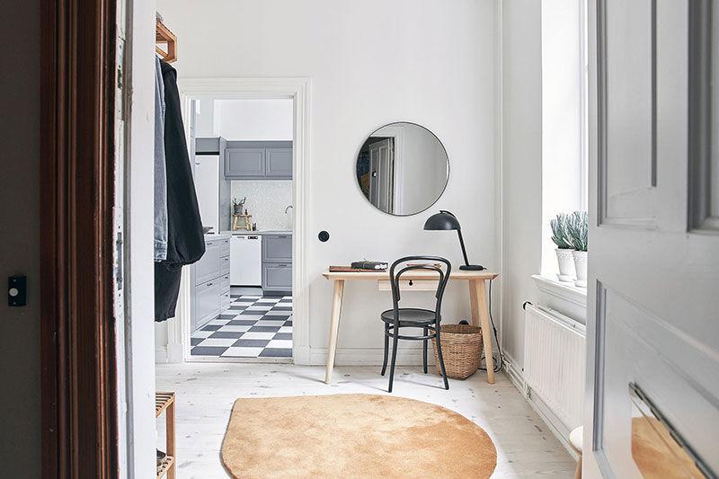 Интерьер как чистый лист: светлая квартира в Гётеборге (64 кв.