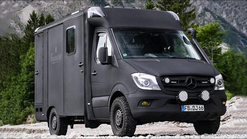 Roomtour Mercedes Sprinter Krankenwagen Campervan Mein neues zu Hause 🤩 Ambulance Vanconversion 🚑