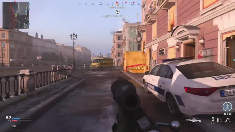 Got hit dead on by a VTOL rocket and I almost fell out of my chair Modern Warfare