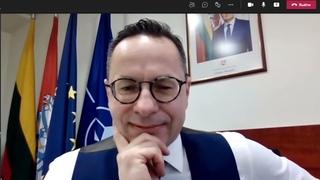 Видео-пранк с Главой комитета по иностранным делам Сейма Литвы