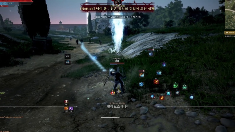 BDO Succession Witch Snowstorm Kiting 전승위치 눈보라 카이팅 ㅋ.ㅋ