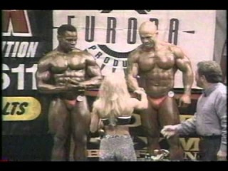 Kai Greene in 1999 weighing about 200 pounds