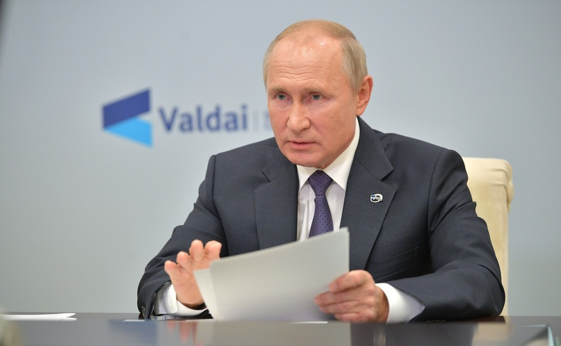 Владимир Путин прокомментировал отравление Алексея Навального