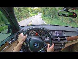 2012 BMW X5 xDrive35d Turbo-diesel - POV Test Drive (Binaural Audio)