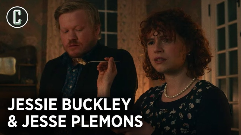 Jesse Plemons and Jessie Buckley on Netflix's I'm Thinking of Ending Things
