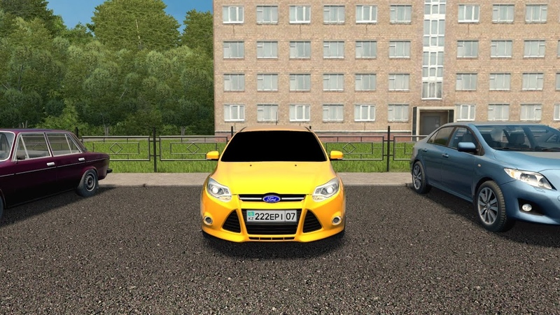 City Car Driving Ford Focus 3 l Fast Driving Link CCD Gameplay G29