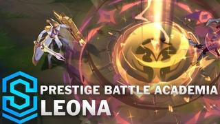 Prestige Battle Academia Leona Skin Spotlight - Pre-Release - League of Legends