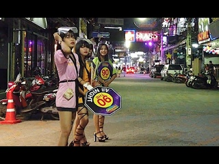 Pattaya Walking Street: Which Go Go Bars Are Open? Thai Girls Are Waiting For You In Thailand (4K)