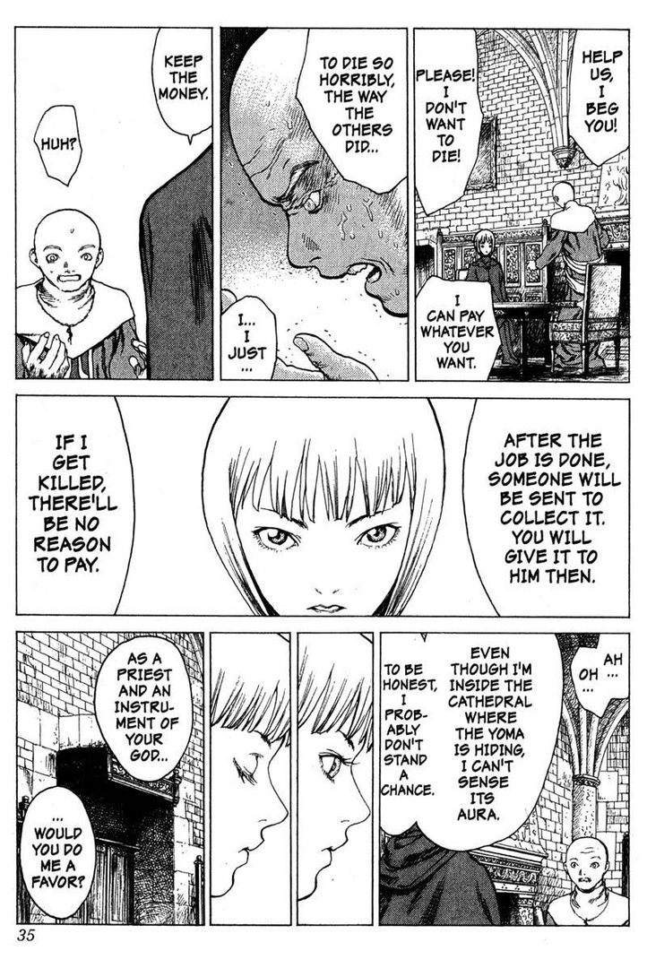 Claymore, Chapter 5, image #34