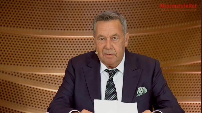 Roland Kaiser bei der Pressekonferenz Alarmstufe Rot am 28 10 20
